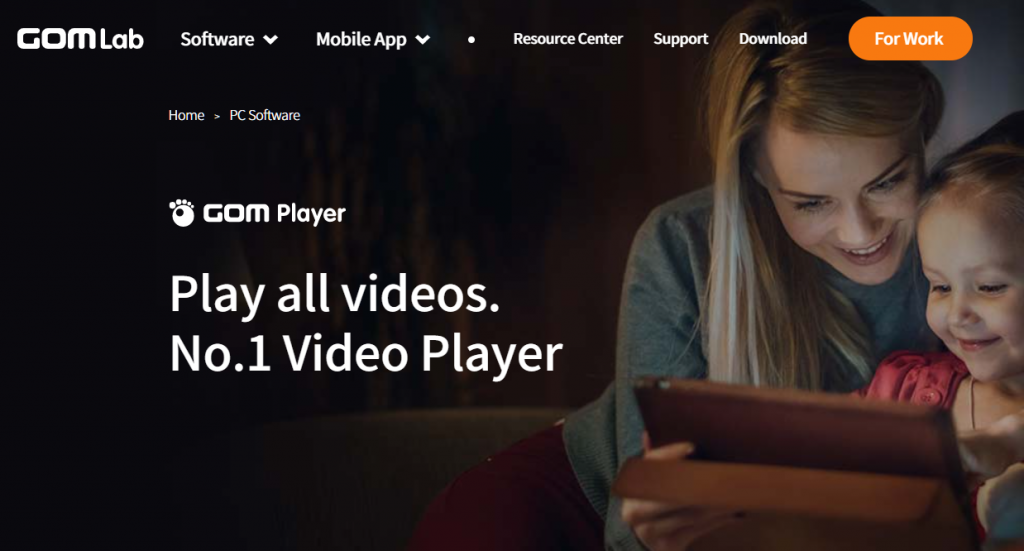 Best Video Player For Windows 10 - GOM Media Player