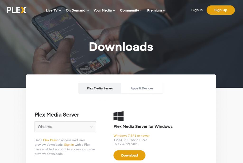 Best Video Player For Windows 10 - Plex Player