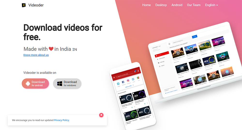 Download Hotstar Videos On Desktop PC MAC Android iOS - Videoder